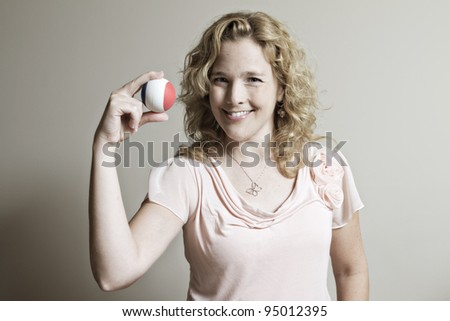 Keep Your Eye on the Ball - stock photo