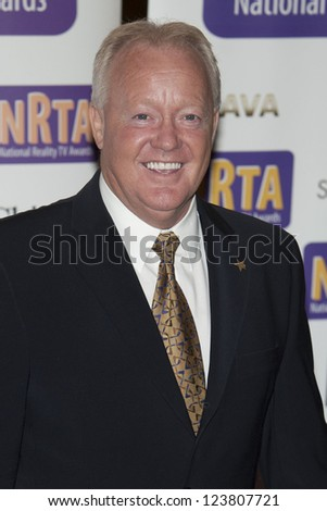 Keith Chegwin arriving for the National Reality Television Awards, Porchester Hall, London. 30/08/2012 Picture by: Simon Burchell - stock photo