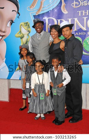 "Keith David at the ""The Princess And The Frog"" World Premiere, Walt Disney Studios, Burbank, CA. 11-15-09"