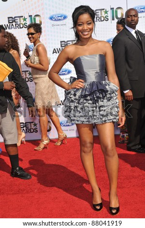 Keke Palmer at the 2010 BET Awards at the Shrine Auditorium, Los Angeles. June 27, 2010  Los Angeles, CA Picture: Paul Smith / Featureflash