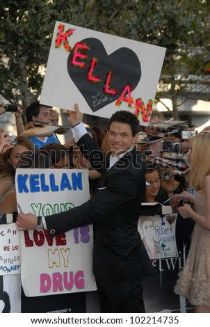 "Kellan Lutz at ""The Twilight Saga: Eclipse"" Los Angeles Premiere, L.A. Live, Los Angeles, CA. 06-24-10"