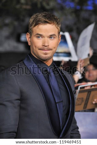 "Kellan Lutz at the world premiere of his movie ""The Twilight Saga: Breaking Dawn - Part 2"" at the Nokia Theatre LA Live. November 12, 2012  Los Angeles, CA Picture: Paul Smith"