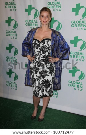 Kelli Garner at Global Green USA's 9th Annual Pre-Oscar Party, Avalon, Hollywood, CA 02-22-12