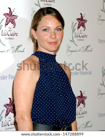 Kelli Williams at the Lili Claire Gala Beverly Hilton Hotel Beverly Hills, CA October 14, 2006 - stock photo