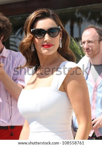 Kelly Brook at the 'Keith the Movie' photocall Cannes, France. 19/05/2012 Picture by: Henry Harris / Featureflash