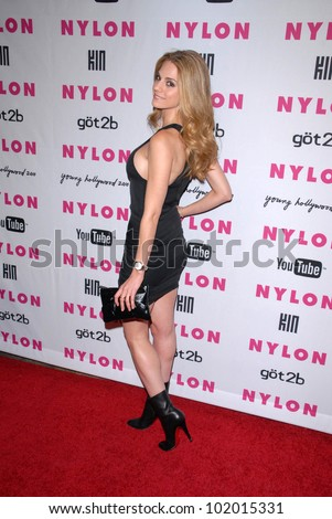 Kelly Kruger at the NYLON Magazine's May Issue Young Hollywood Launch Party, Roosevelt Hotel, Hollywood, CA. 05-12-10