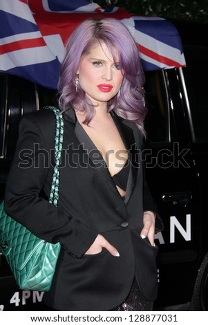 Kelly Osbourne at the Topshop Topman LA Opening Party, Cecconis, West Hollywood, CA 02-13-13 - stock photo