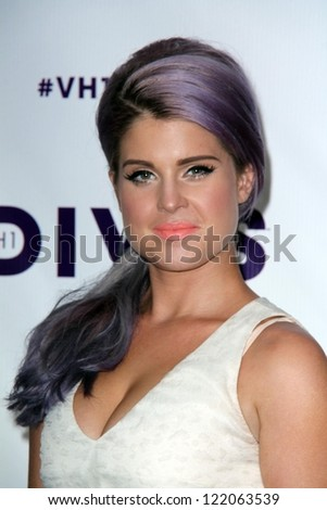 Kelly Osbourne at VH1 Divas 2012, Shrine Auditorium, Los Angeles, CA 12-16-12