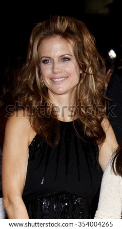 "Kelly Preston at the World Premiere of ""Old Dogs"" held at the El Capitan Theater in Hollywood, California, United States on November 9, 2009."