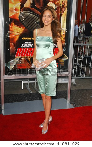 "Kelsey Chow at the Los Angeles Premiere of ""Rush Hour 3"". Mann's Chinese Theater, Hollywood, CA. 07-30-07 - stock photo"