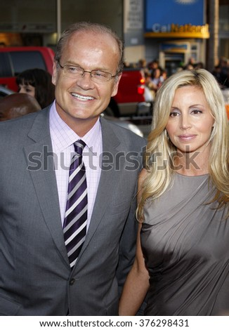 "Kelsey Grammer and Camille Grammer at the Los Angeles Premiere of ""X-Men Origins: Wolverine"" held at the Grauman's Chinese Theatre in Hollywood, USA on April 28, 2009."