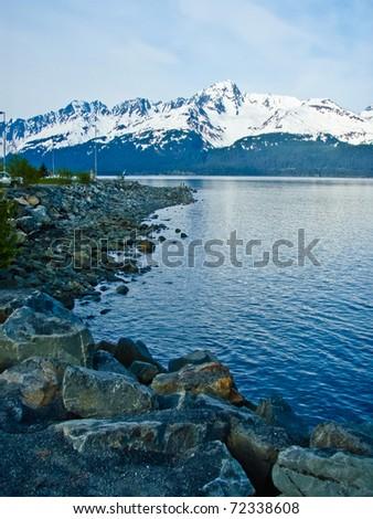 Kenai Fjords National Park, Alaska - stock photo