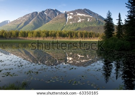 Kenai peninsula in Alaska - stock photo