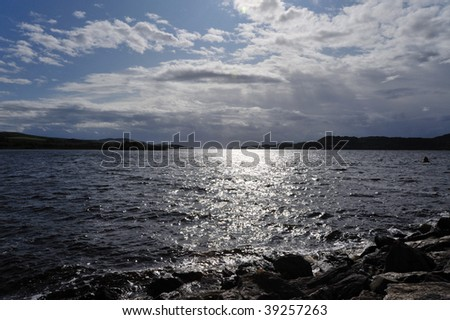 Kennacraig Harbor - stock photo