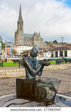 Kennedy Park. Cobh, County Cork, Republic of Ireland - stock photo