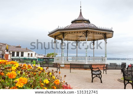 Kennedy Park in Cobh. County Cork, Ireland - stock photo