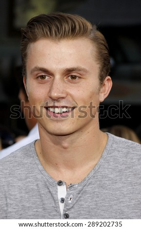 Kenny Wormald at the Los Angeles premiere of 'Step Up Revolution' held at the Grauman's Chinese Theatre in Hollywood on July 17, 2012.  - stock photo