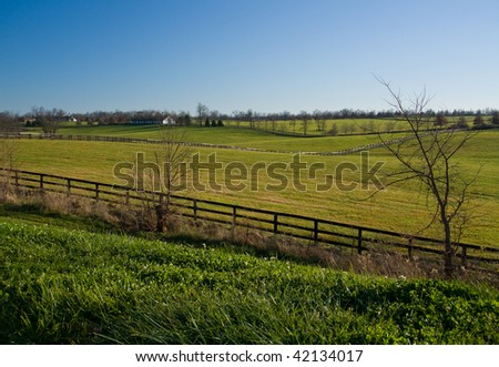 Kentucky landscape. - stock photo