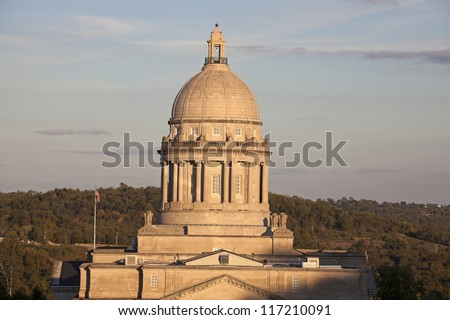 Kentucky - state capitol in Frankfort