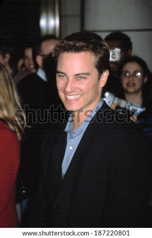 Kerr Smith at 100th episode of Dawson's Creek at Museum of Television & Radio, NY 2/19/2002