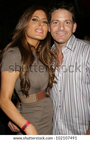 Kerri Kasem and Jeff Timmons at the 'Let's Kick It For Kenya' Concert Benefit, Eleven, West Hollywood, CA. 06-04-10