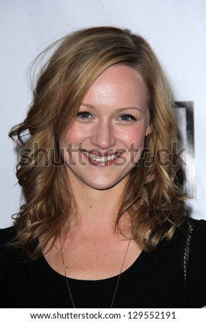 Kerry Bishe at the US-Ireland Alliance Pre-Academy Awards Event, Bad Robot, Santa Monica, CA 02-21-13
