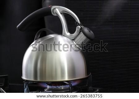 kettle - stock photo