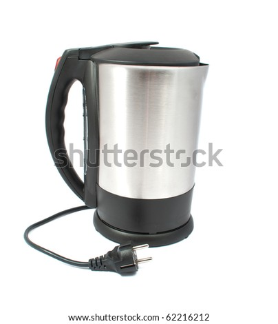kettle on a white background
