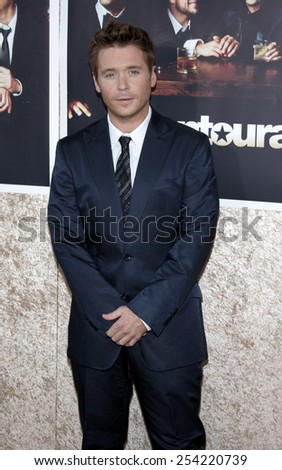 "Kevin Connelly at the HBO's Official Premiere of ""Entourage"" Season 6 held at the Paramount Pictures Studios in Hollywood, California, United States on July 9, 2009."