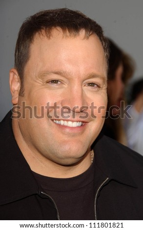 "Kevin James at the World Premiere of ""I Now Pronounce You Chuck and Larry"". Gibson Amphitheatre, Studio City, CA. 07-12-07"