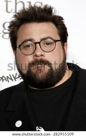 Kevin Smith at the Los Angeles premiere of 'Zack And Miri Make A Porno' held at the Grauman's Chinese Theater in Hollywood on October 20, 2008.  - stock photo