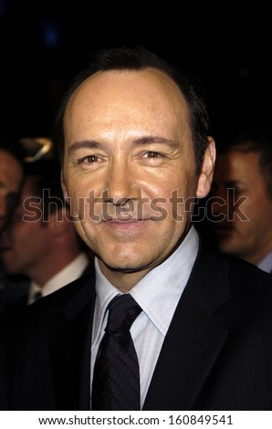 Kevin Spacey during the AFI FEST 2004 opening night premiere of BEYOND THE SEA, Los Angeles, CA, November 4, 2004