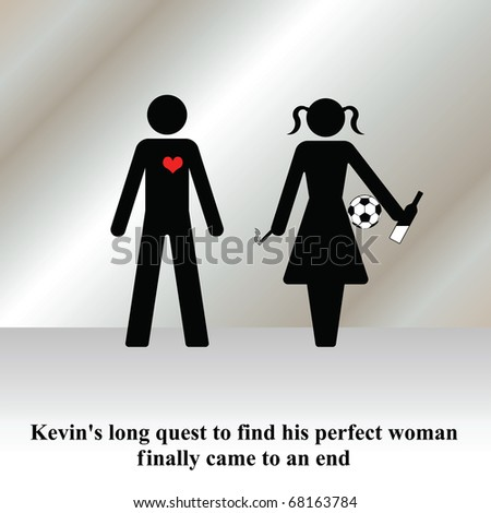 Kevins girlfriend quest finally came to an end