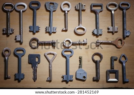 key concept of choice - stock photo