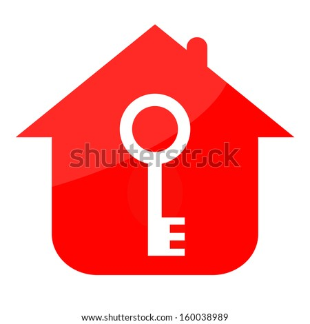Key house - stock photo