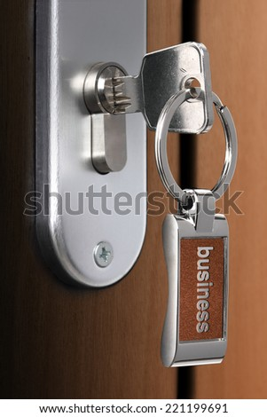 Key of business - stock photo