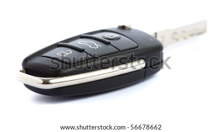 key of car - stock photo