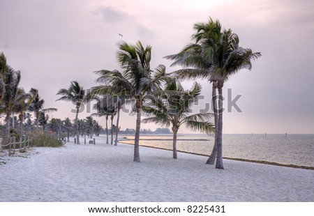 Key West Florida beaches are the perfect getaway - stock photo