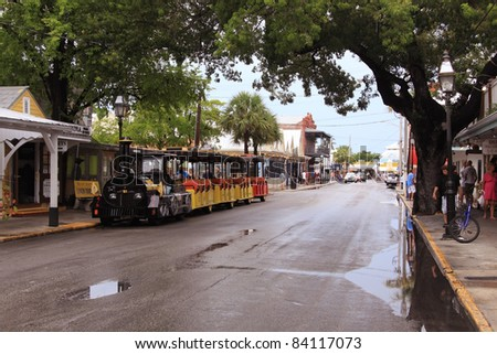 Key West. Southernmost point city in the continental U.S. - stock photo