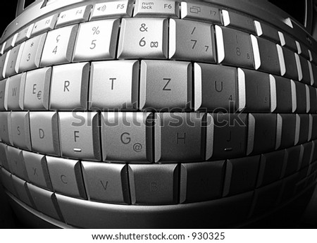 Keyboard - stock photo