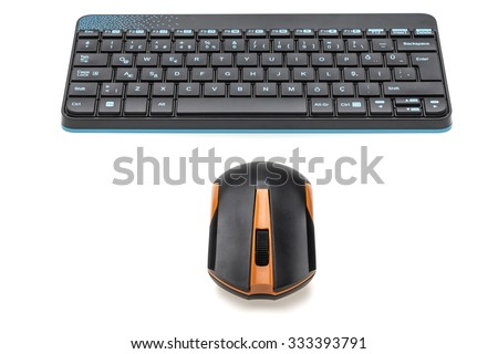 Keyboard and Mouse - stock photo
