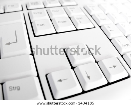keyboard arrow keys