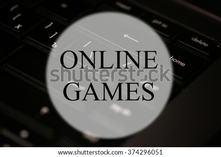 keyboard black game background