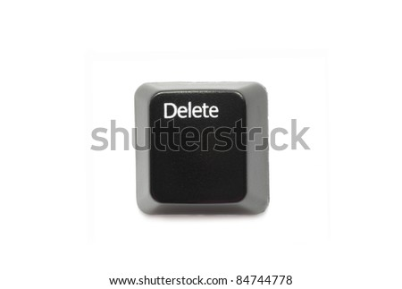 Keyboard button - stock photo
