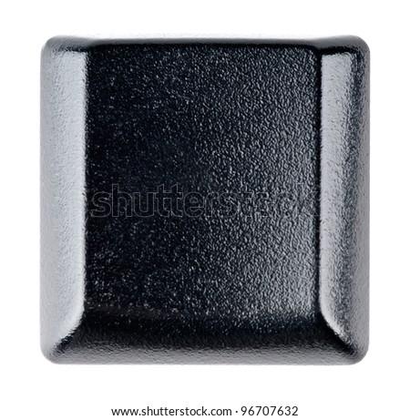 Keyboard button on white background - stock photo