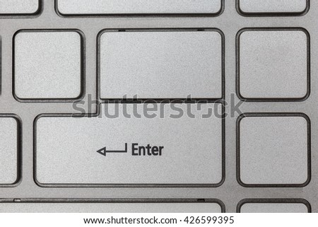 Keyboard computer close up shot,Keyboard background,Top view - stock photo