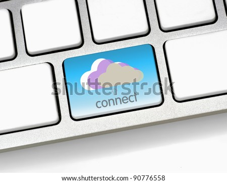 keyboard layout for cloud computing {super high resolution/shot with PhaseOne P45}