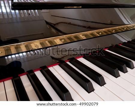 Keyboard Piano - stock photo