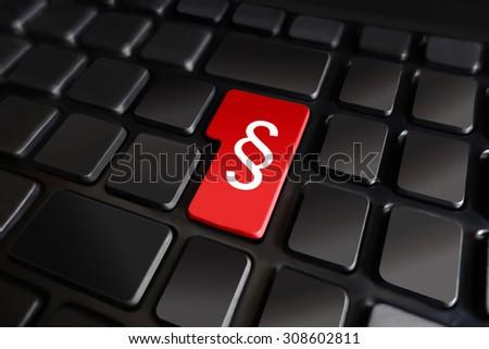 Keyboard Paragraph Symbol Stock Illustration 308602811 Shutterstock