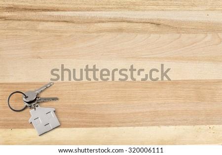 Keys. - stock photo